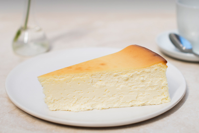 Veniero's New York City style Italian cheesecake. Creamy and smooth, handmade using the same recipe since 1894. Enjoy a slice of NYC history from the best Italian pastry shop in Manhattan!